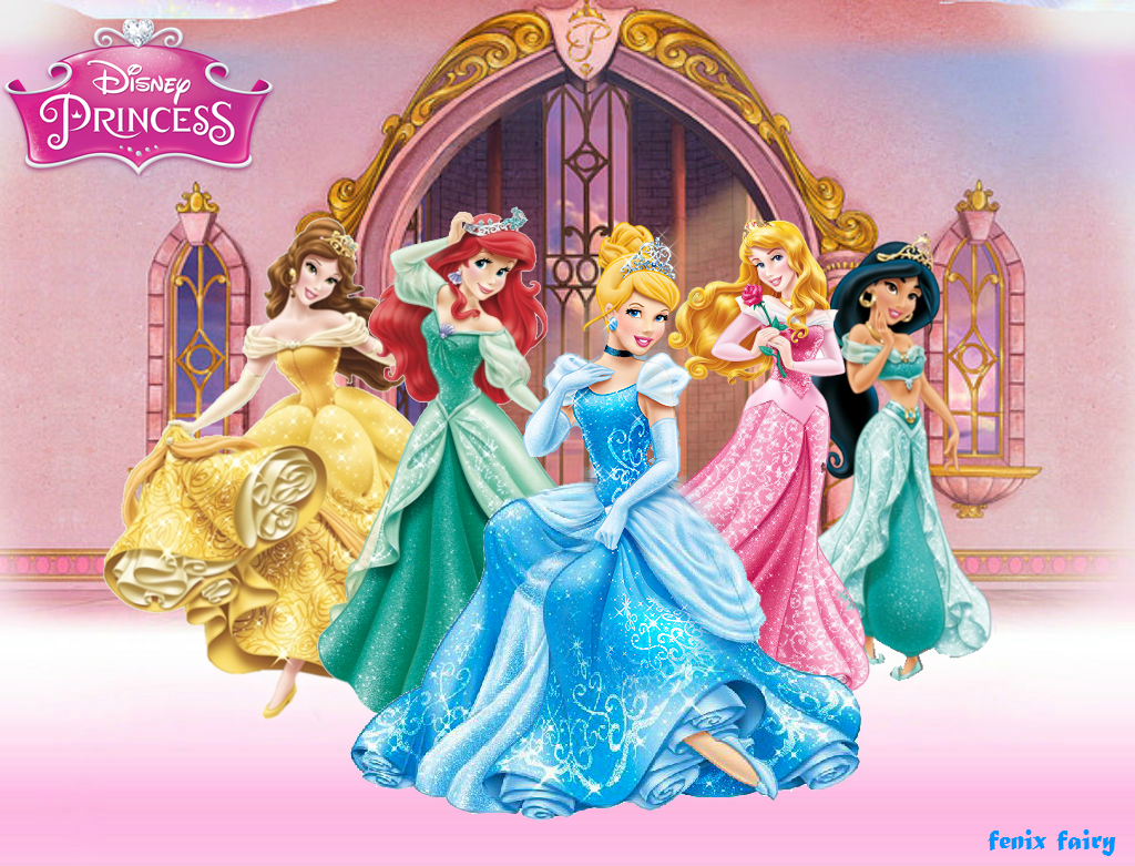 Disney Princess Wallpaper 14 By Fenixfairy