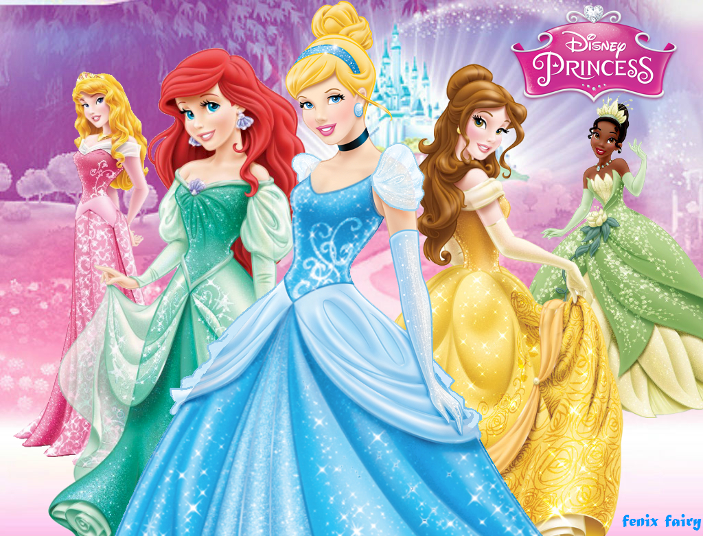Disney princess wallpaper new by fenixfairy on DeviantArt