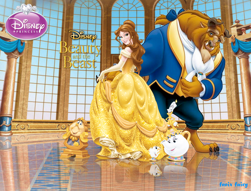 Disney Beauty And The Beast Wallpaper By Fenixfairy On Deviantart