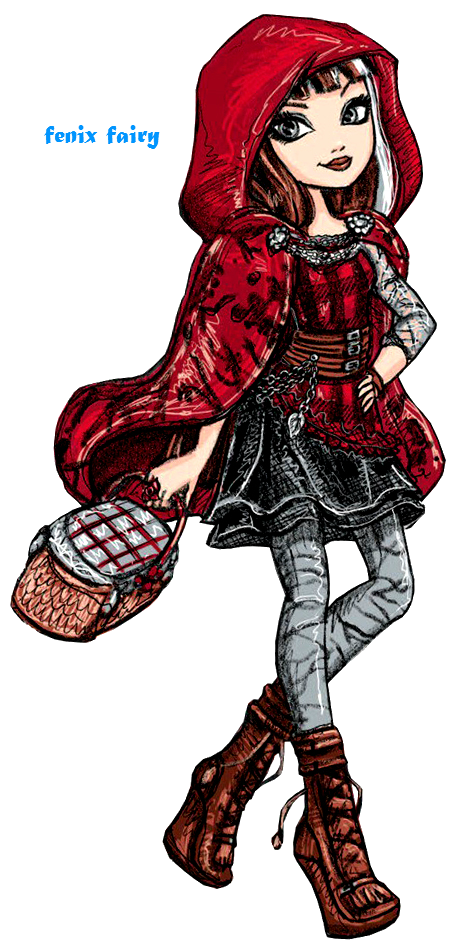 Cerise Wolf, Daugther of Big Bad Wolf   Ever After High   Cerise Hood