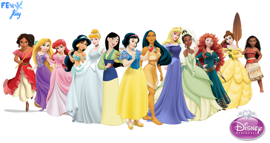Disney Princess By Fenixfairy On Deviantart