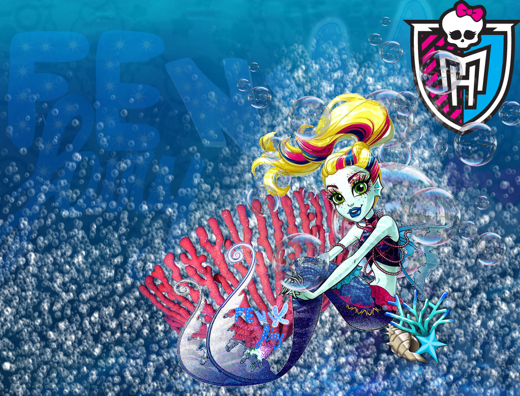Lagoona Blue Mermaid Wallpaper By Fenixfairy