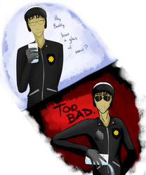 Bad Cop? TOO BAD by Capricious-Spider