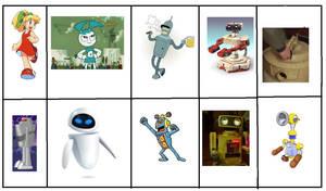 My top 10 Favorite Robots