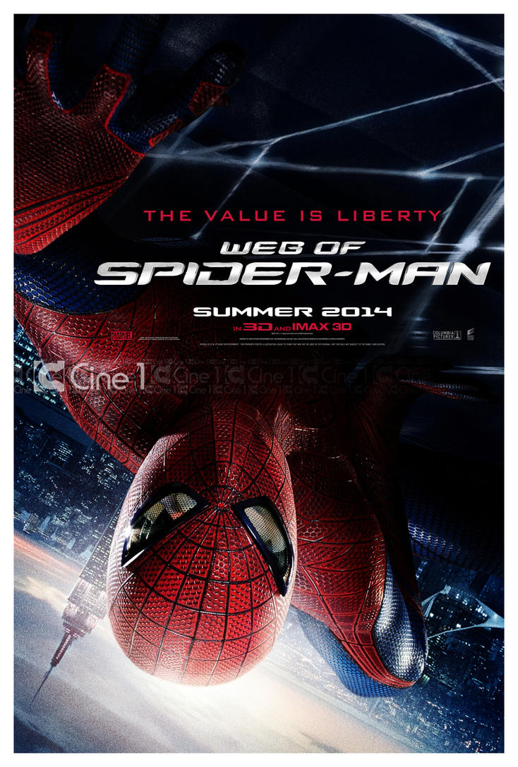 Teaser poster - Web Of Spider-Man by jphomeentertainment