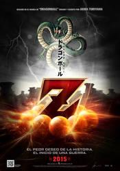 Teaser poster provisional de DRAGON BALL Z (2015)