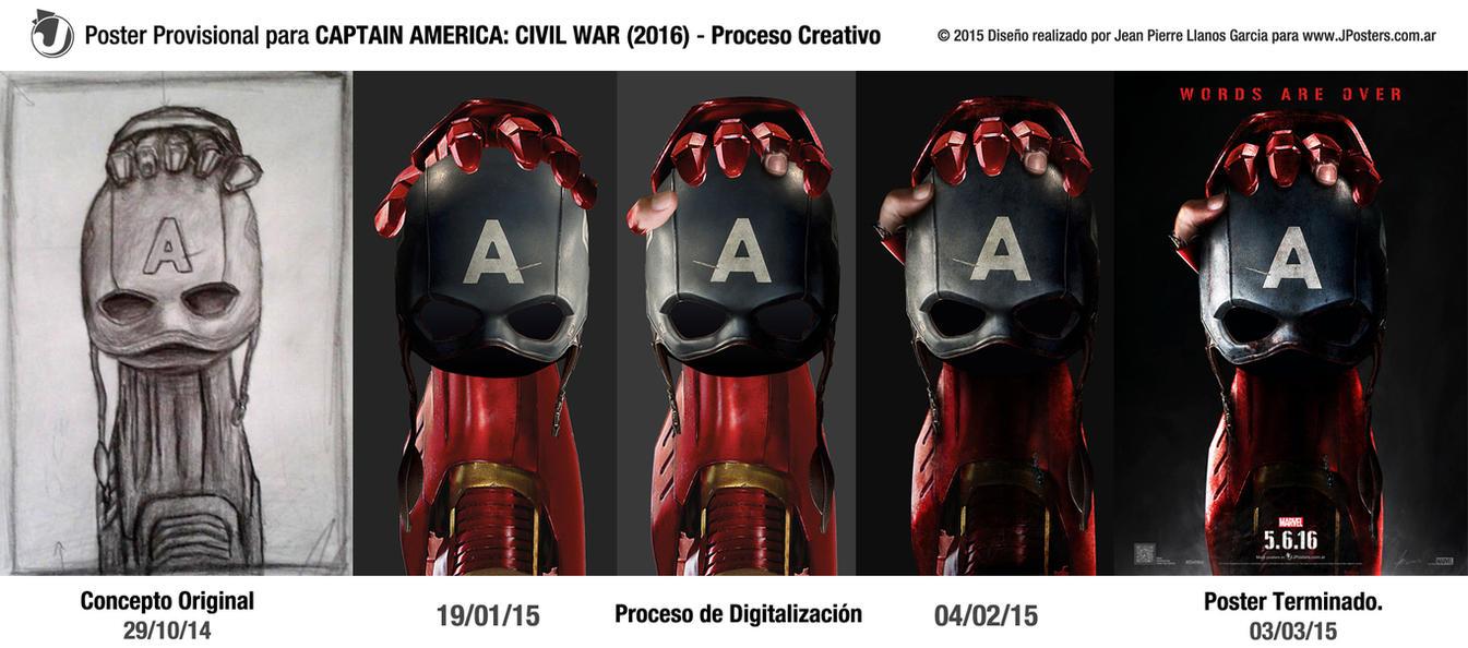 CAPTAIN AMERICA: CIVIL WAR (2016) - Proceso by jphomeentertainment ...