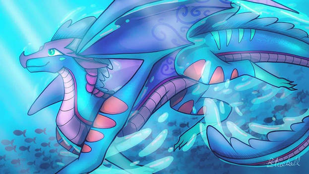 Deep blue sea (contest entry)