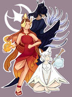 Descendants of an Angel