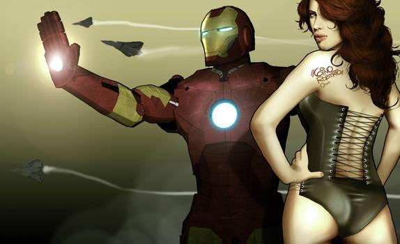 Ironman x Black Widow