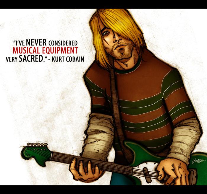Kurt Cobain by ginoroberto