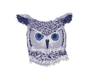 JoAlisons owl by happyfear