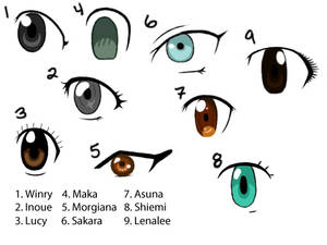 More Anime Eyes