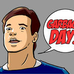 GARBAGE DAY by hocuspukeus