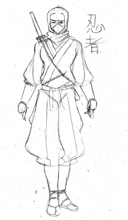 Traditional Ninja By Hocuspukeus On Deviantart