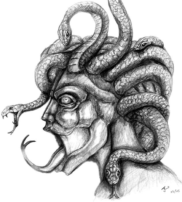 Medusa by JoJo83