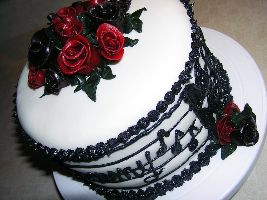 Musical Cake By DancesWithWacom On DeviantArt