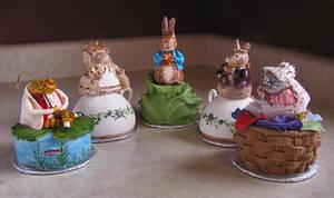Beatrix Potter Cakes