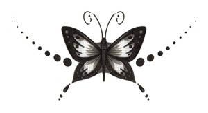 Butterfly Tattoo Design 2