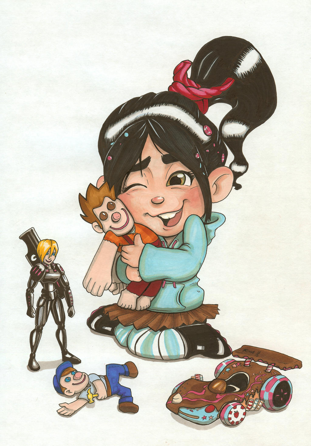 Vanellope by riva13