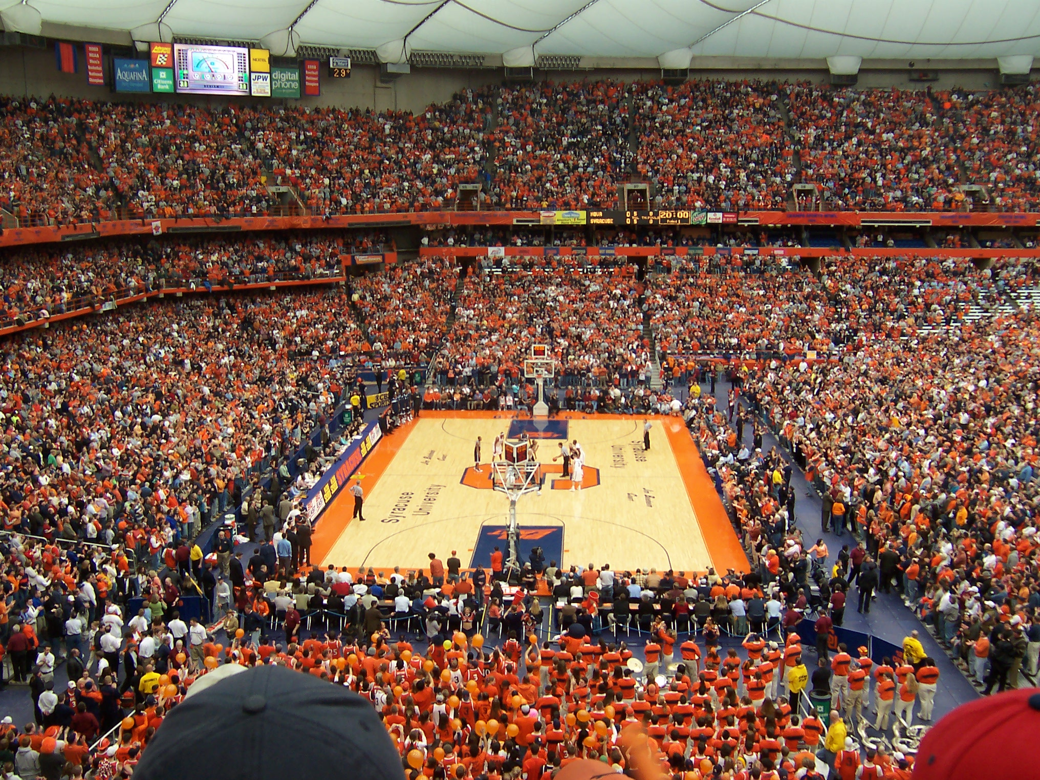 Syracuse Carrier Dome by spacetime on DeviantArt