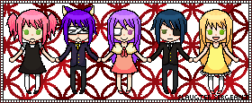 :AT Alice-DrinkMeBottle: Chibis by SlaughterSergeant