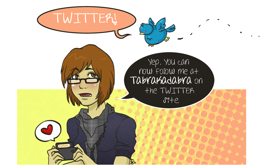 Tabrakadabra on Twitter by tabby-like-a-cat
