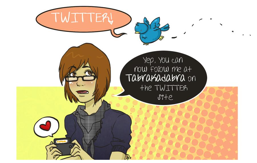 Tabrakadabra on Twitter by tabby-like-a-cat