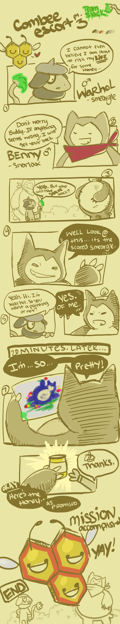 Team Slack- Combee Escort pg 3 by tabby-like-a-cat