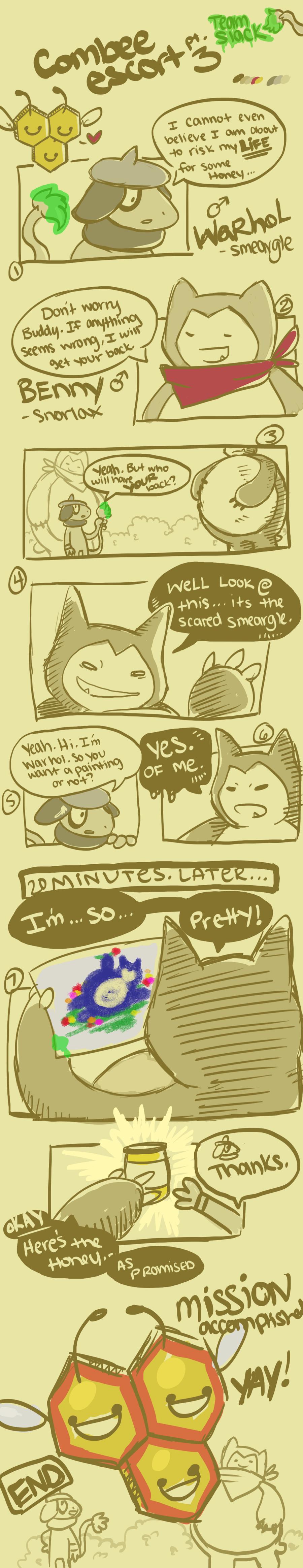 Team Slack- Combee Escort pg 3 by tabby-like-a-cat