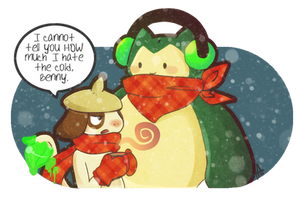 I Hate The Cold by tabby-like-a-cat