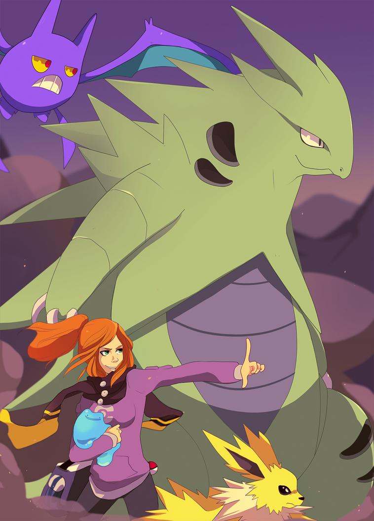 Pokemon- Morgan's Birthday by tabby-like-a-cat