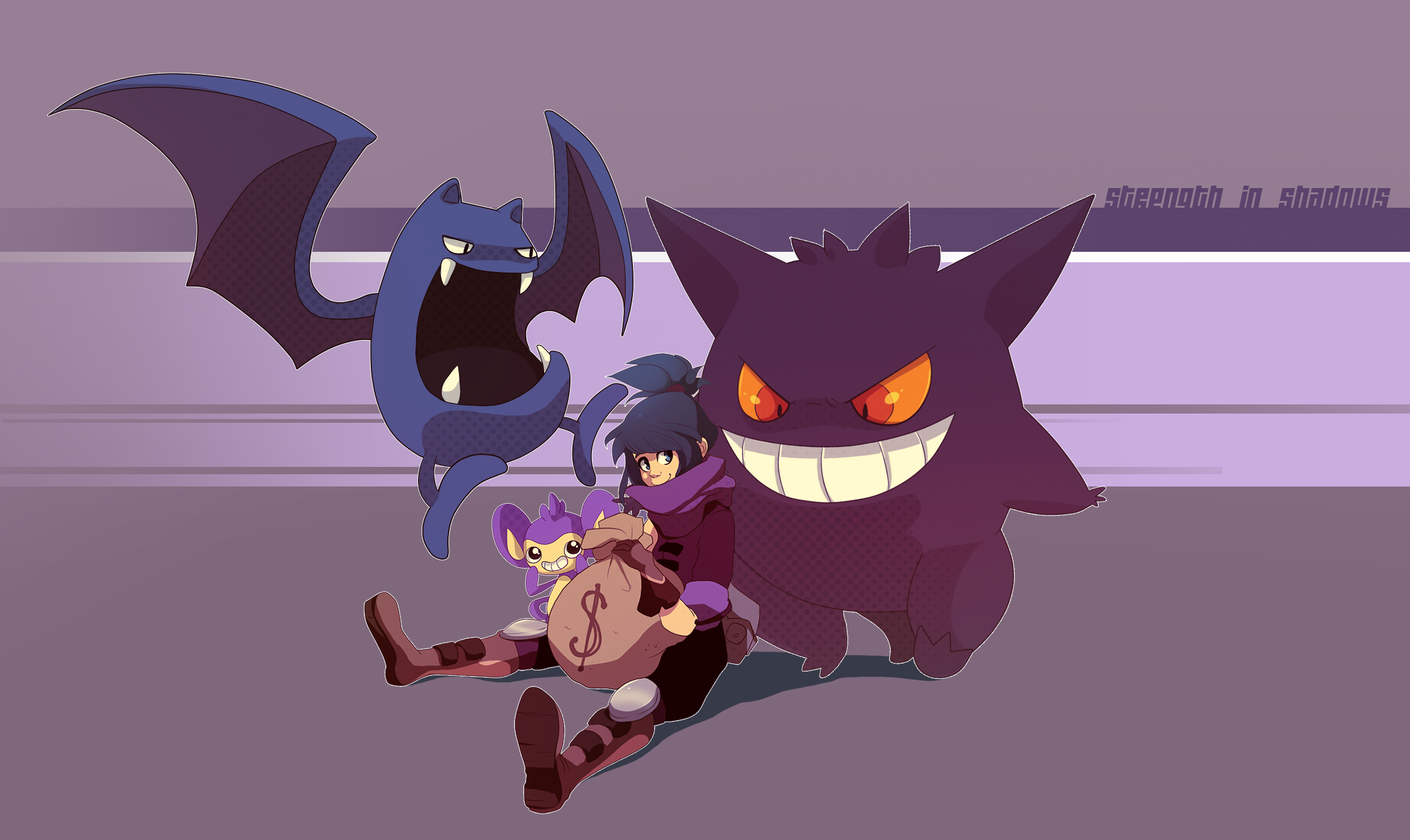 Pokemon- Dorian's Team by tabby-like-a-cat