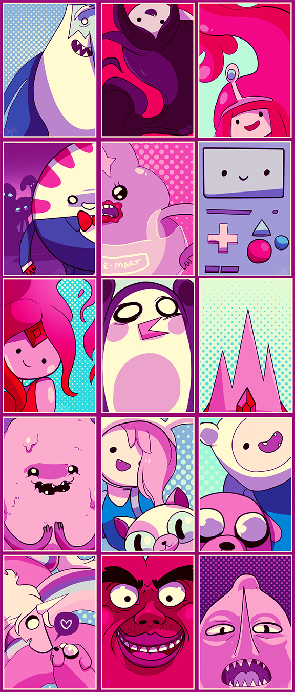 Adventure Time by tabby-like-a-cat