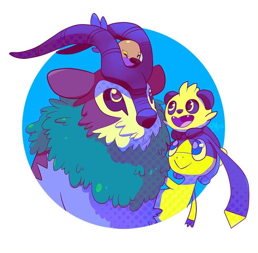 Pokemon X - Y New Cuties by tabby-like-a-cat