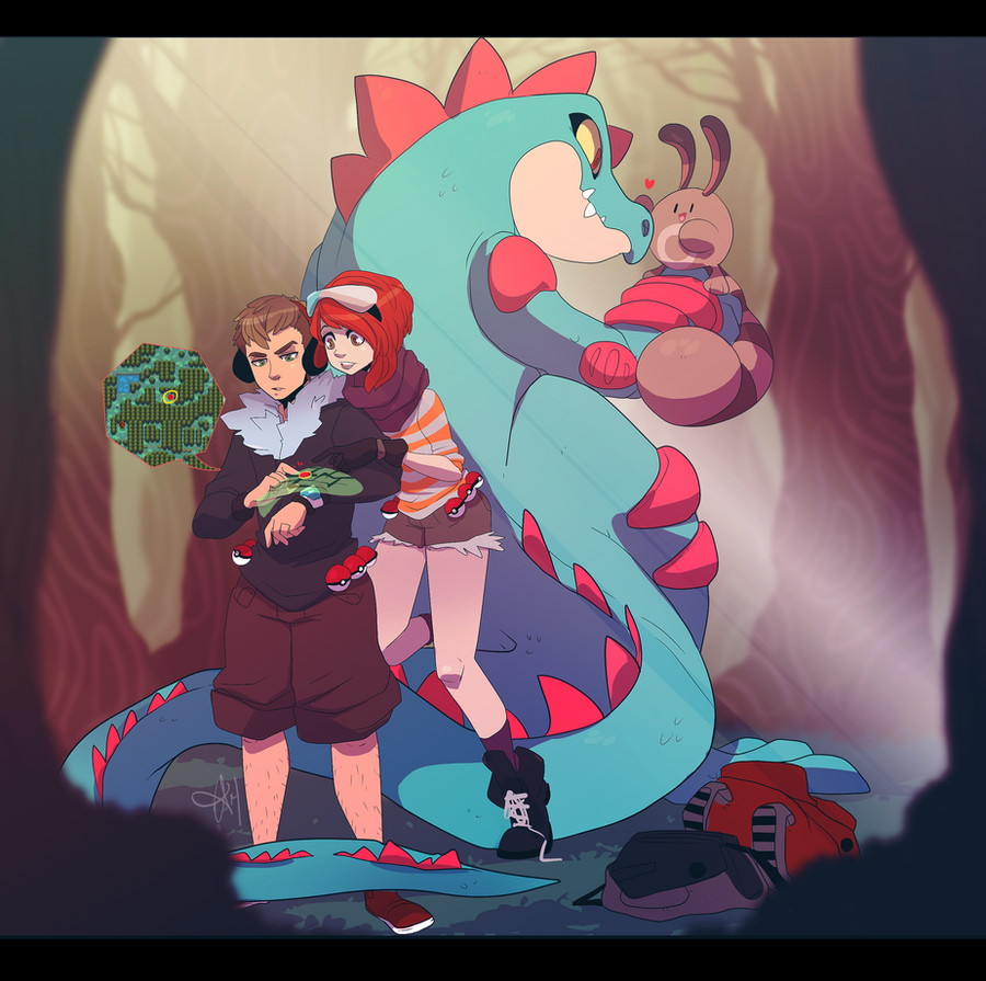 Pokemon: Lost in Ilex Forest by tabby-like-a-cat