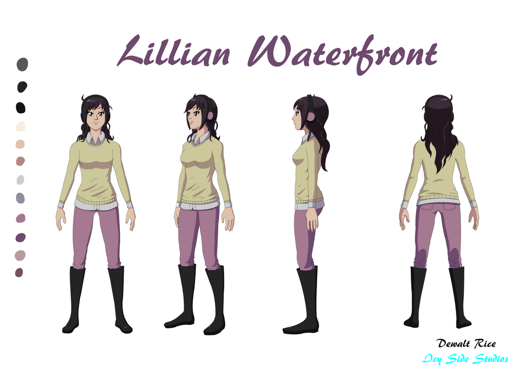Lillian Waterfront Reference Sheet by Sol-Tamida