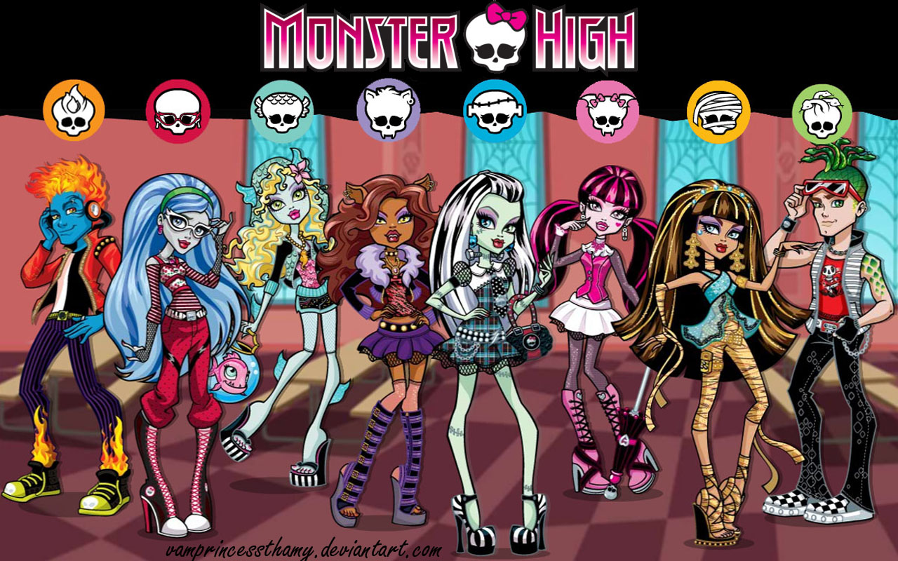 monster high by vamprincessthamy - Les Monster High
