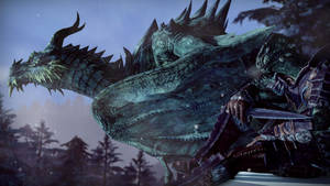 The Argonian and The Dragon...