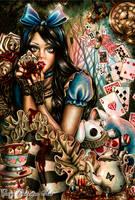 Alice in Wonderland by EnysGuerrero