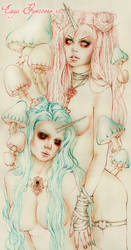 Unicorn Lovers/ Line Art