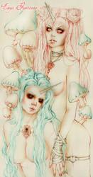 Unicorn Lovers/ Line Art by EnysGuerrero