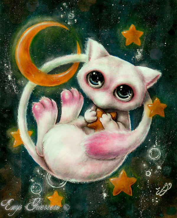 Mew the Star Stealer by EnysGuerrero