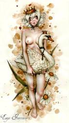 Swan Princess by EnysGuerrero