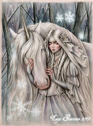 Snow Princess by EnysGuerrero