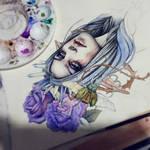 My Wild Feelings Coloring Process