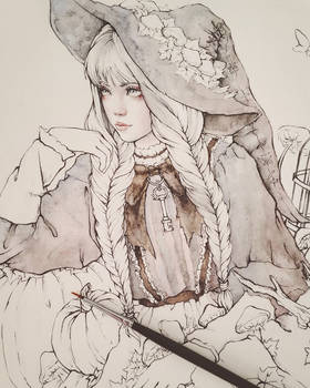 Gray Witch Wip