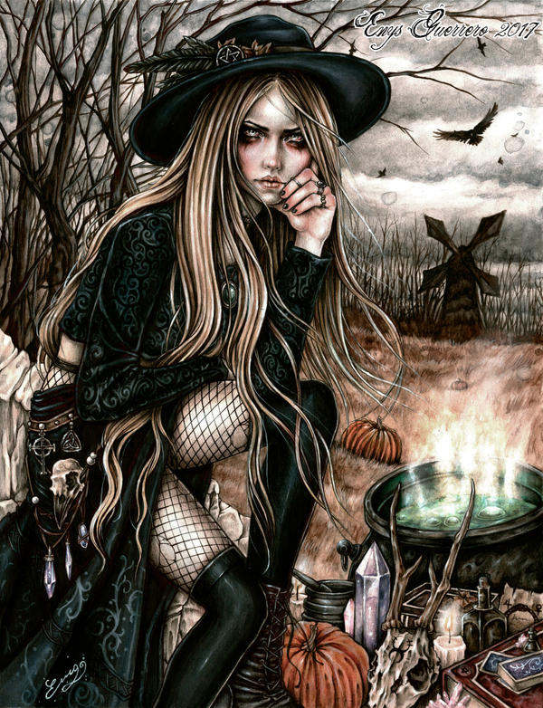 The Season Of The Witch by EnysGuerrero