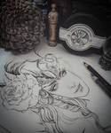 Valentin Lineart Process