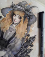 Black Crystal Witch WIP by EnysGuerrero